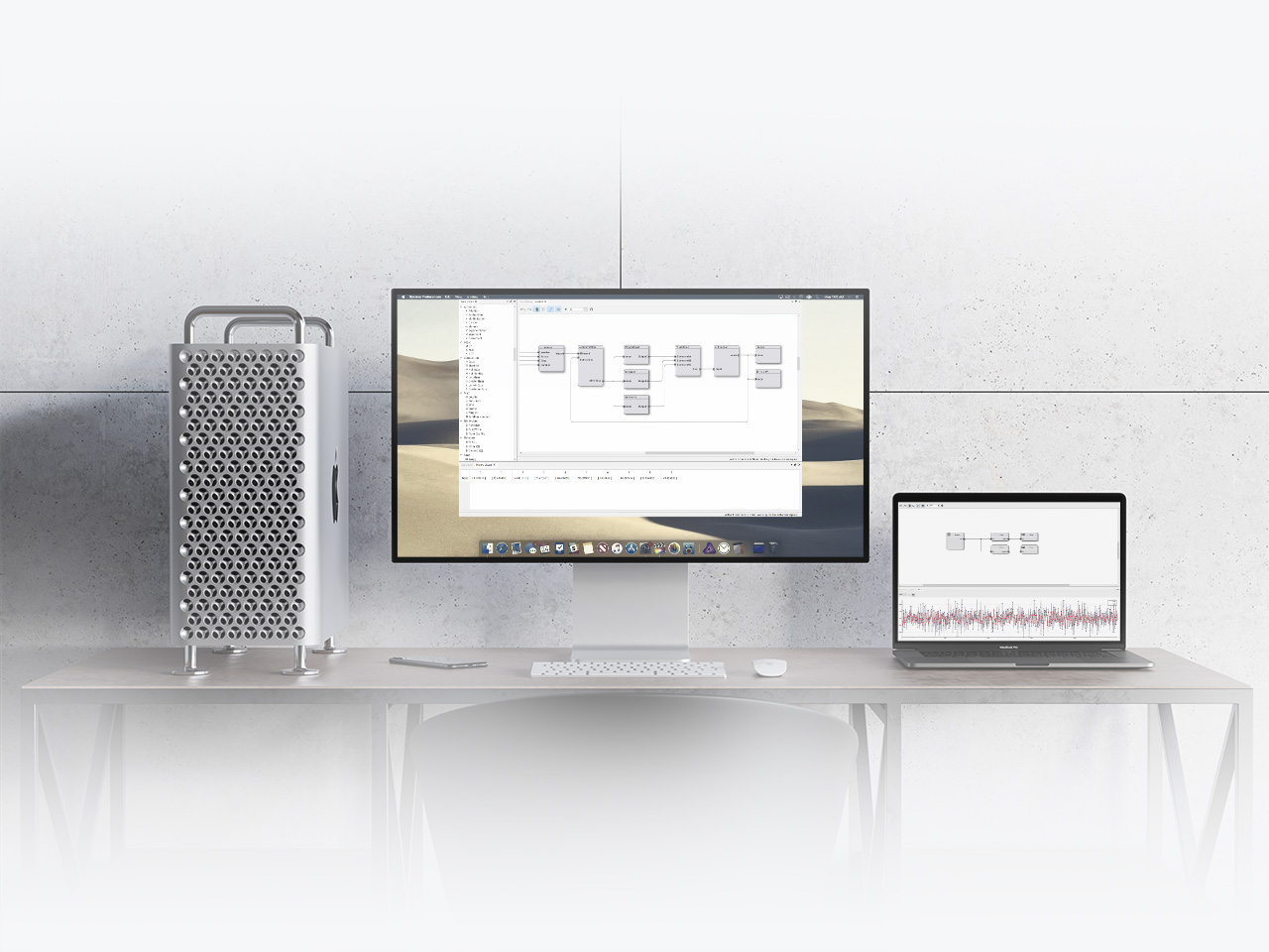 Simulton Software on mac pro with macos
